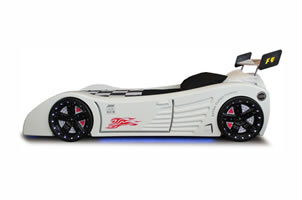 Enzo car bed white