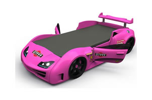 GT1 car bed pink