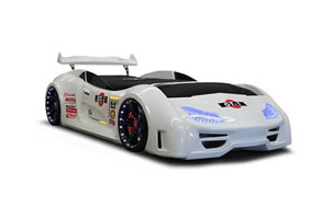 GT1 car bed white
