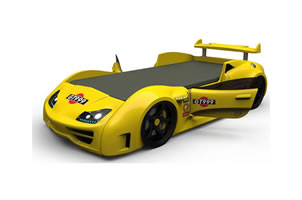 GT1 car bed yellow