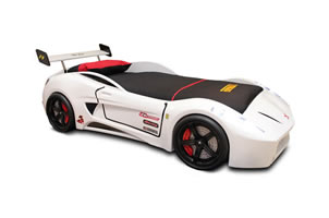 Monza car bed white