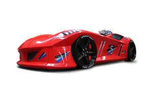 Thunder car bed red